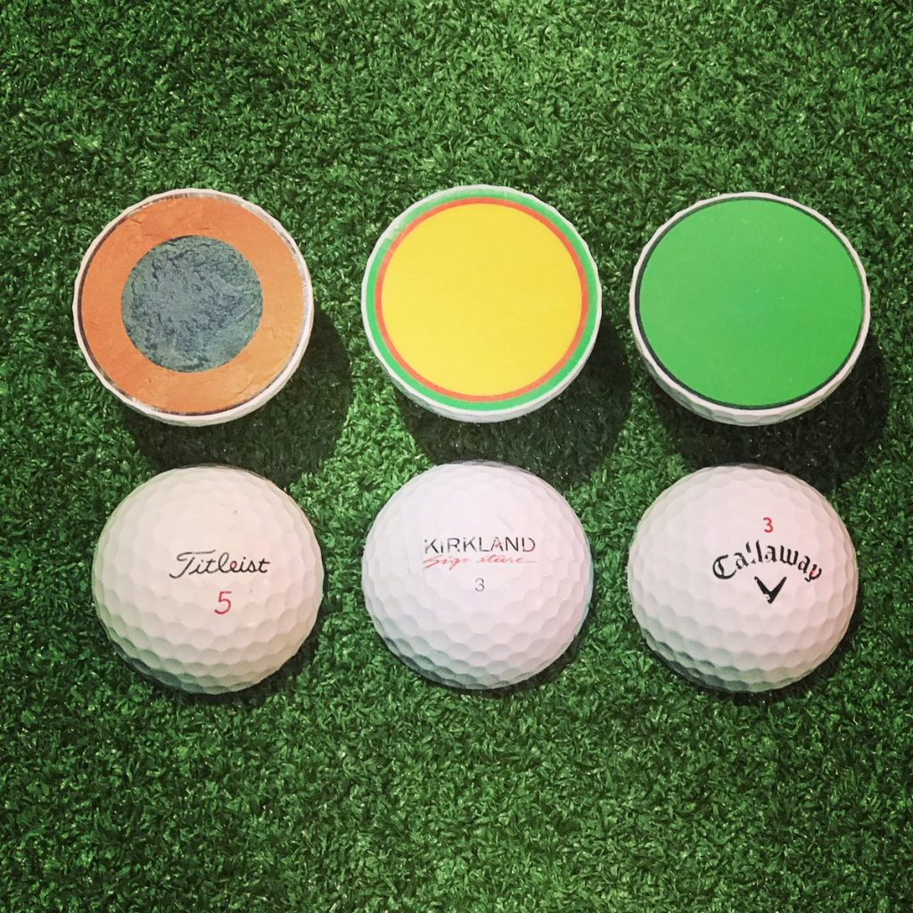 Let's compare Kirkland with other golf balls